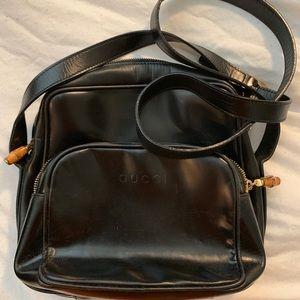 Vintage leather Gucci Crossbody Bag